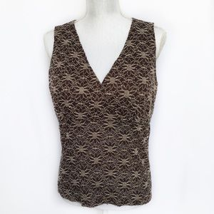 Fashion Bug Empire Cross Front Stretchy Tank